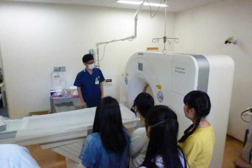 8月24日(木)に病院見学に行ってきました♪