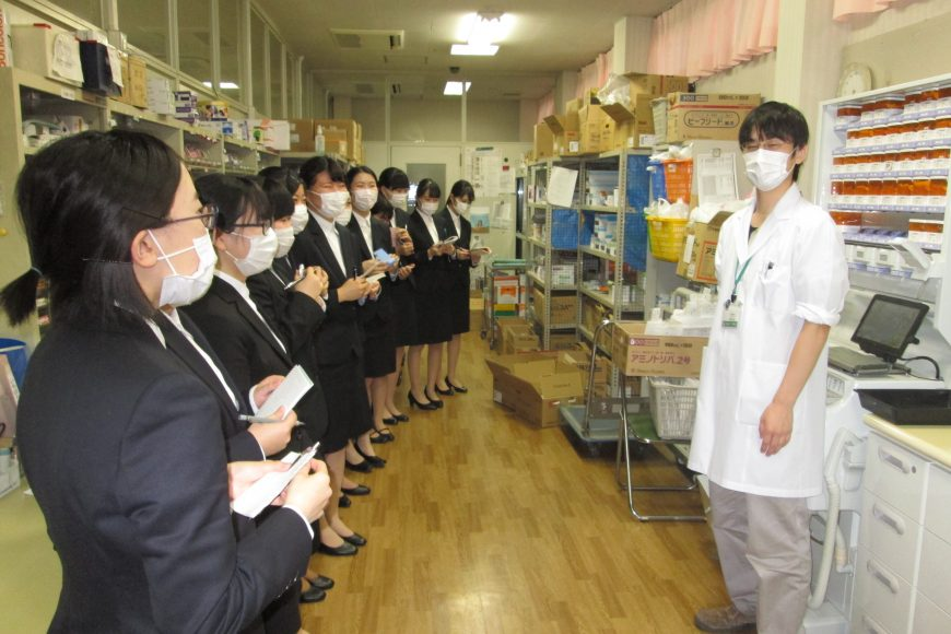 1月29日(火) 病院見学に行ってきました~(^O^)