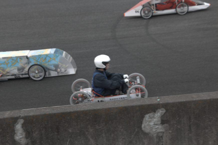 CQ EVミニカートレース筑波大会で学生一位になりました